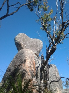 Heart Rock - very aptly named, even if it isn't official.